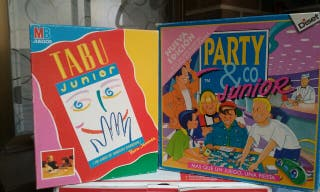 """Lote de juegos """"Party y Tabú Junior"""""""