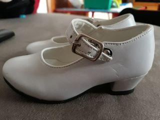 zapatos flamenco bebe/niña