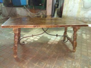 mesa centro salon antigua