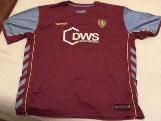 camiseta hummel aston villa XXL-2XL
