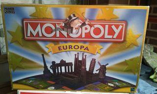 "Juego ""Monopoli Europa"""