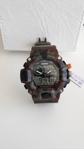 Reloj shock camuflaje