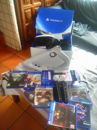 PACK VR PS4 COMPLETO