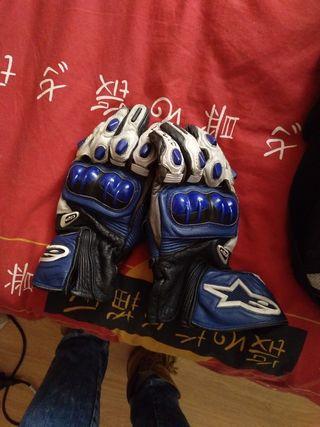 guantes moto carretera alpinestars