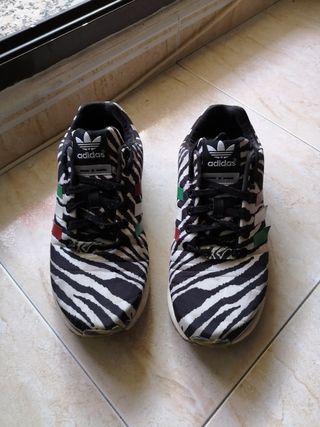 Zapatillas Adidas Zx Flux Zebra