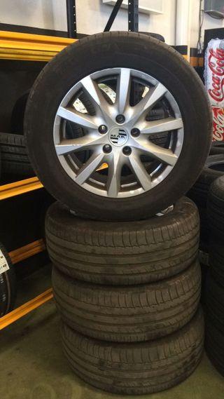 Llantas y neumáticos Porsche Cayenne (18 ancho)