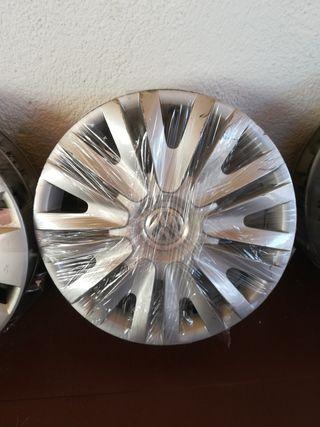 4 tapacubos Volkswagen 15