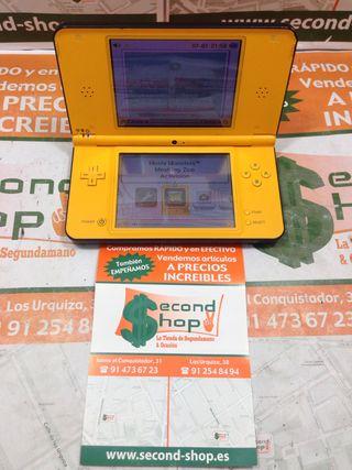 Consola Nintendo DSi XL Amarilla