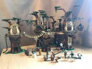 ¡OFERTA! Poblado Ewok Lego completo y montado