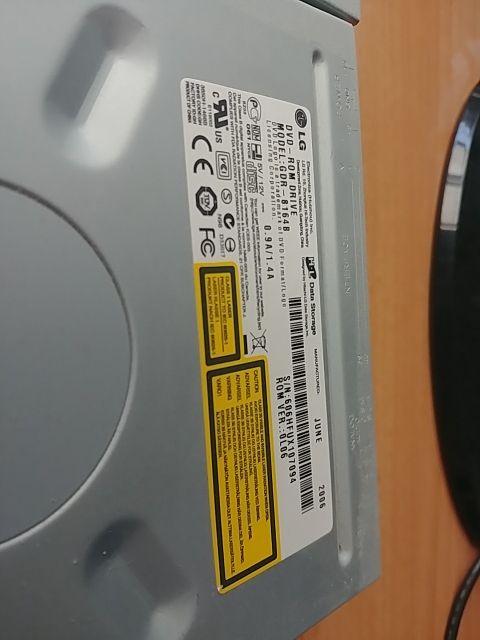Grabadora y lector DVD