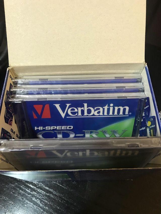 CD regrabable Verbatim