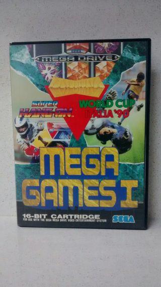 JUEGO DE SEGA MEGADRIVE -MEGA GAMES I- COMPLETO