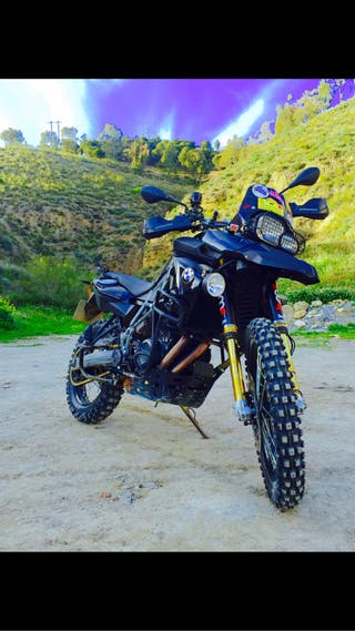 Bmw F800GS triple black ohlins
