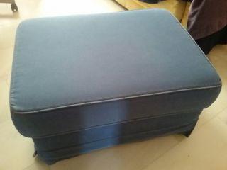 Puff - Reposapies - avance sofa. Ikea Ektorp