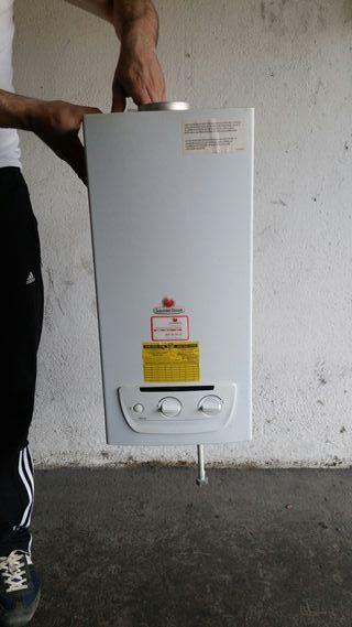 calentador gas butano