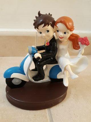 muñecos de boda
