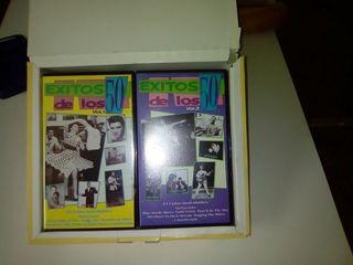 Cintas dvd de exitos de los 50