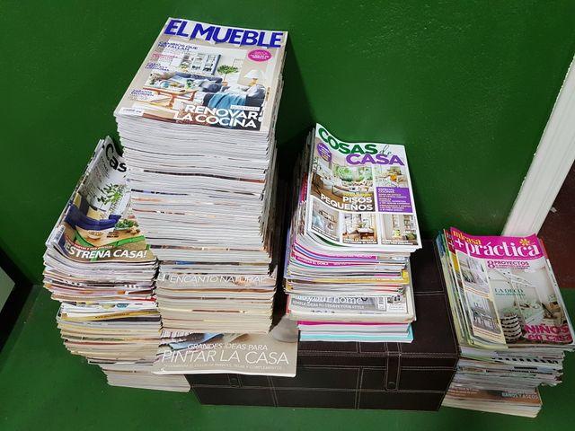 Revistas de decoración.