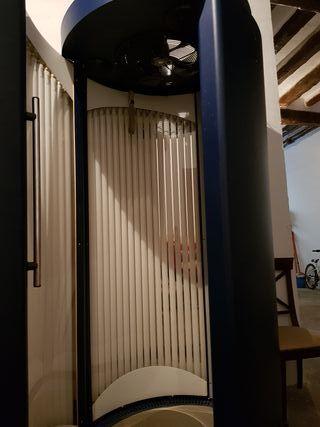 cabina vertical rayos uva