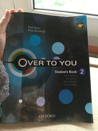 Libro Inglés Over To You 2 Bachillerato