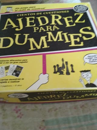 juego ajedrez para dummies