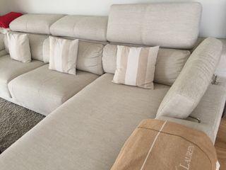 Sofa chaise longue reclinable