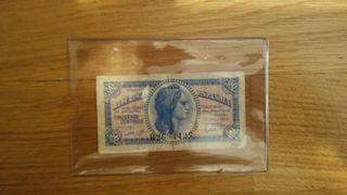 Billete de 50 céntimos República España