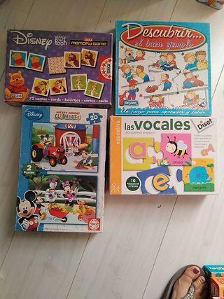 Juegos didácticos infantil