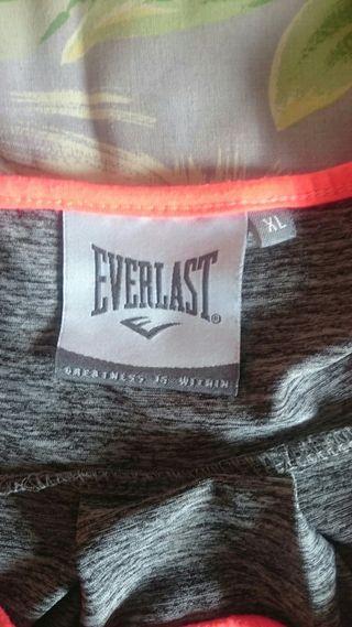 "Camiseta original ""EVERLAST"" deportiva"