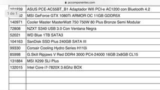 PC Gaming GTX 1080. Core i7
