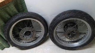 ruedas super motard 50cc