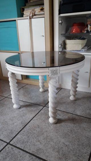mesa antigua reciclada
