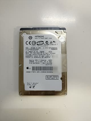 Disco duro de Apple MacBook 250GB