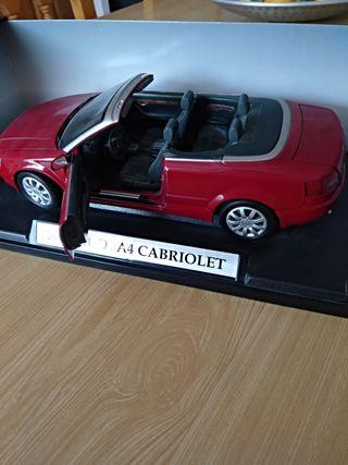 Coche maqueta escala 1:18 Audi Cabriolet