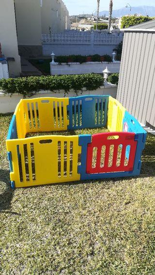 Parque infantil Ibaby Play Twin 8 piezas