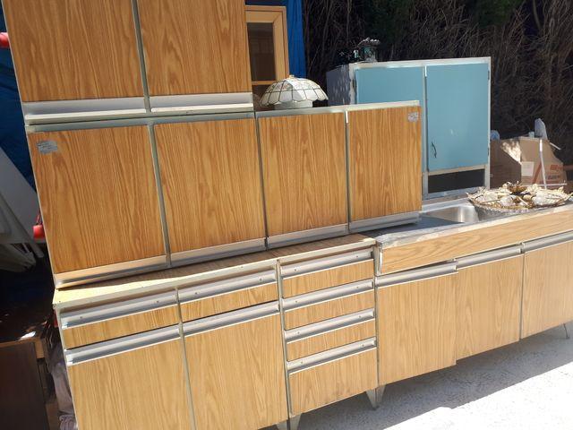Muebles met licos cocina vintage de segunda mano por 180 en granada en wallapop - Muebles de segunda mano en granada ...