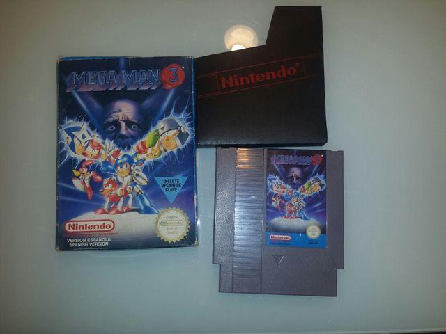 Juego Nintendo Nes Megaman 3 De Segunda Mano Por 33 En Dos