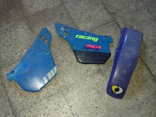 Tapas laterales y guardabarro trasero Alfer VR 250