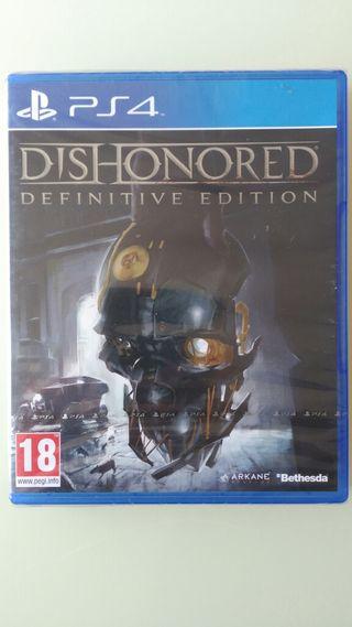 DISHONORED DEFINITIVE EDITION PS4 Pal España NUEVO