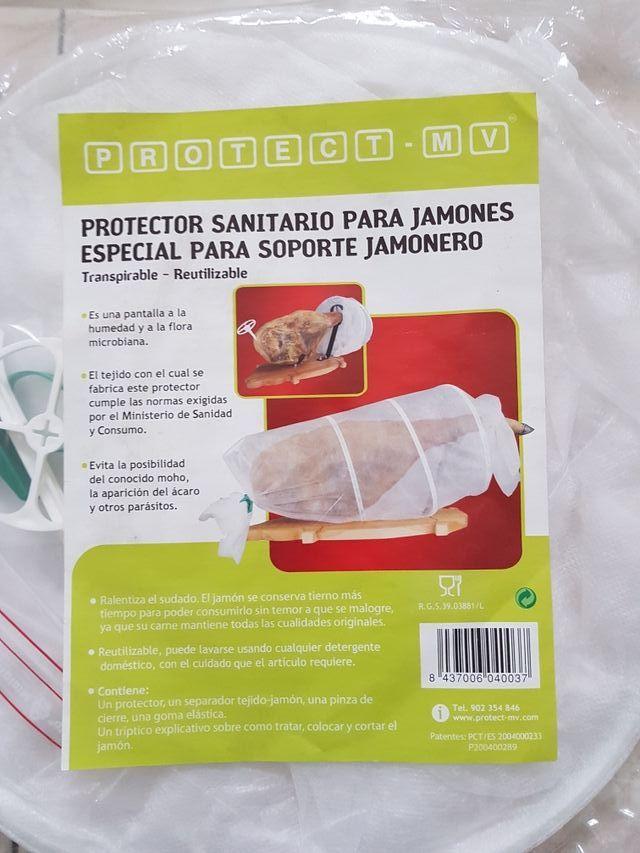 Lote Jamonero, Cuchillo y Protector