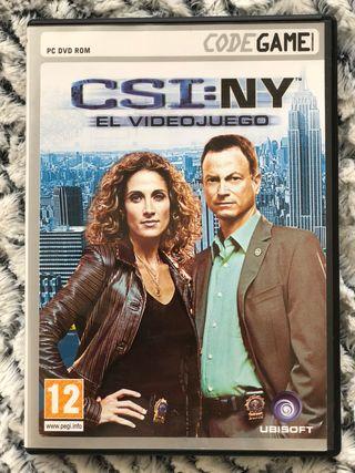 Juego CSI - Nueva York (PC)