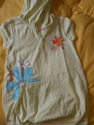 vestido niña 2 años voltereta