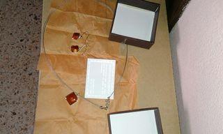conjunto pendientes y collar ideal detalle boda