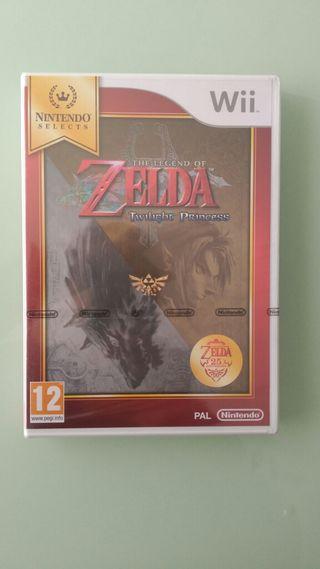 THE LEYEND OF ZELDA: TWILIGHT PRINCESS. Wii NUEVO