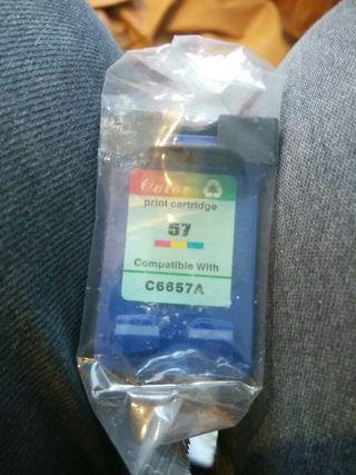 cartucho tinta color compatible HP C6657A -57