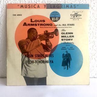 Single de Louis Armstrong editado en España 1955