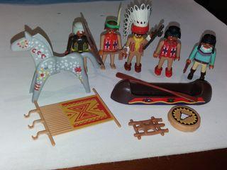 Playmobil lote Indios