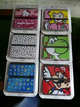 COVER PLATES new Nintendo 3DS -carcasas ¡¡NUEVAS!!