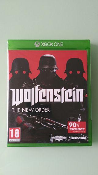 WOLFENSTEIN: THE NEW ORDER. XBOX ONE