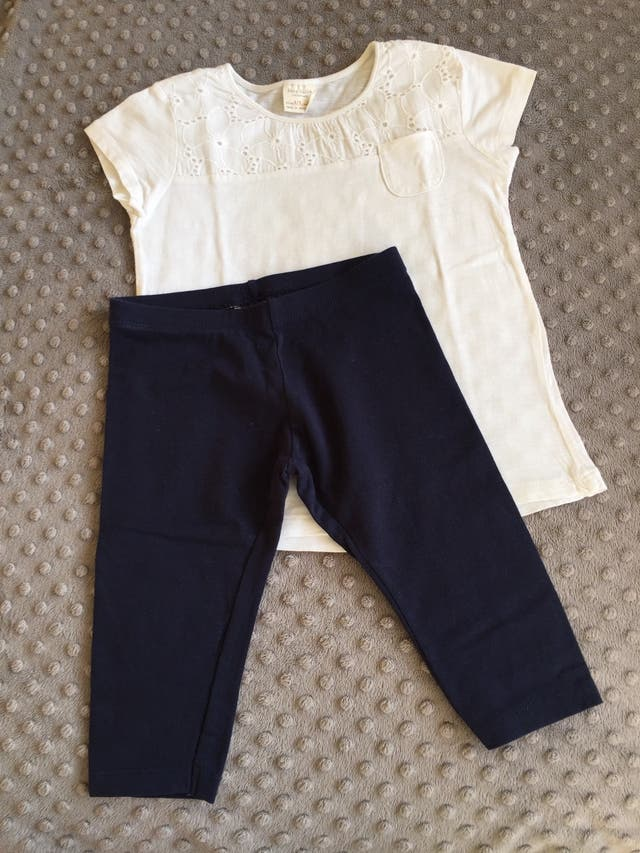 Conjunto camiseta y leggins Zara